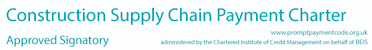Construction Supply Chain Payment Charter logo