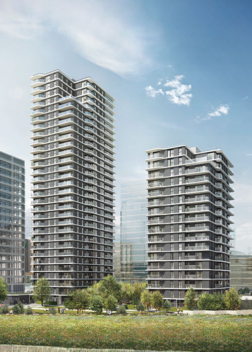 district heating for high rise apartments