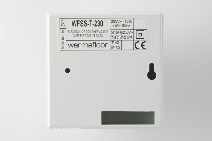 WFSS-T-230 back view with label